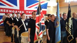 Bridgeton loyalists flute band @ Greengairs Thistle fb cultural day 2014 pt 2
