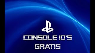 Free console id 2018 ps3