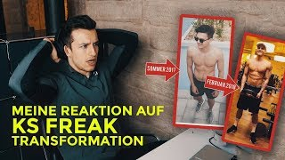 Meine Reaktion auf: 3 Monate Transformation | Ksfreakwhatelse | Trainingsanalyse