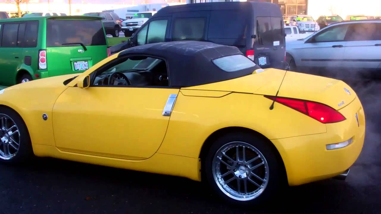 2005 nissan 350z convertible at gresham ford - youtube