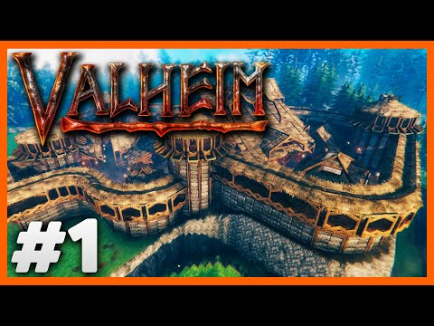 Valheim Part 1 - Getting The First Base Built w/DarkLord