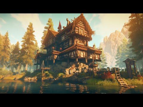 Valheim Part 1 - Getting The First Base Built w/DarkLord