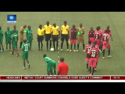 Highlights From Channels International Kids Cup | Sports This Morning |