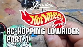 🔥RC HOT WHEELS HOPPING LOWRIDER🔥 Part 1