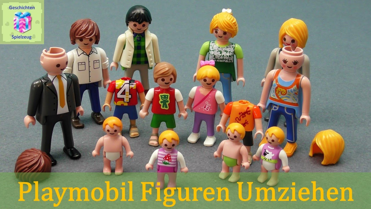 playmobil figuren umziehen k pfe tauschen playmobil. Black Bedroom Furniture Sets. Home Design Ideas