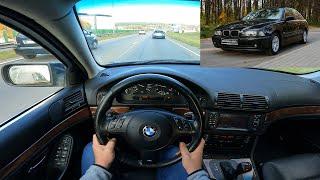 2003 BMW 5 Series E39 525d (163 Hp) Pov Test Drive