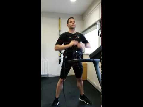 EMS training with miha bodytec (Kolb Speedfit London)