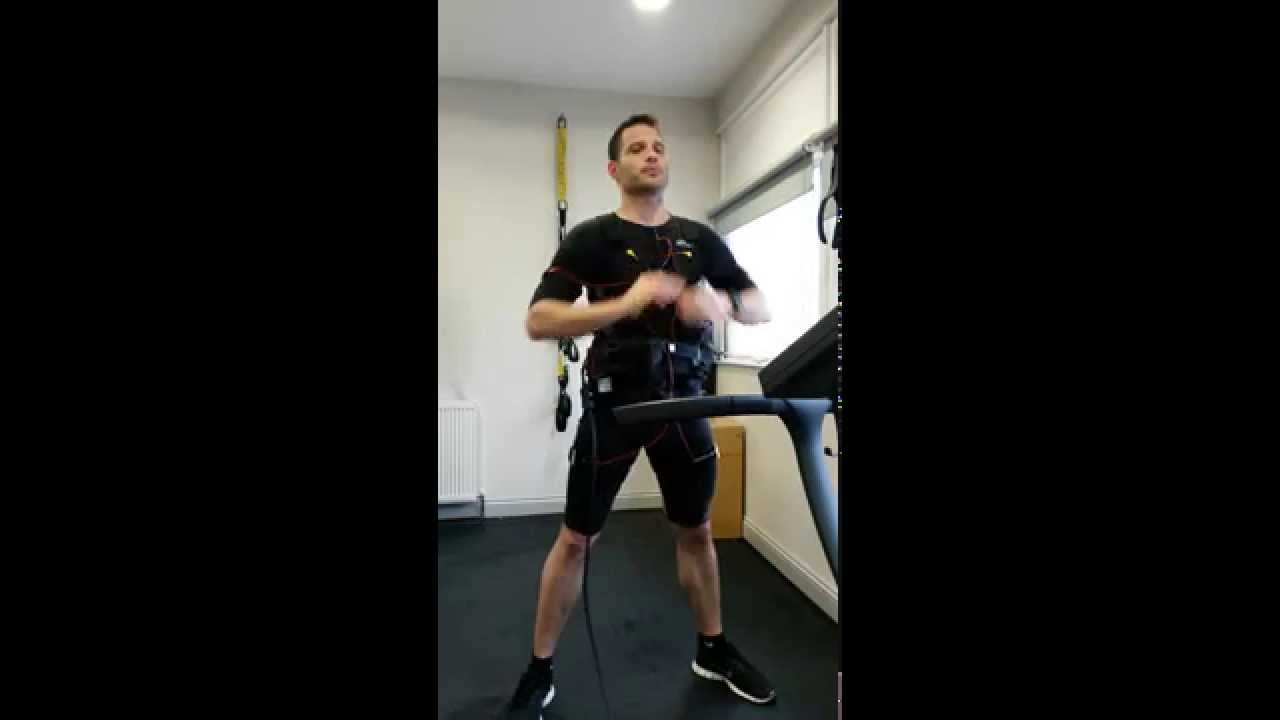 EMS training with miha bodytec (Kolb Speedfit London