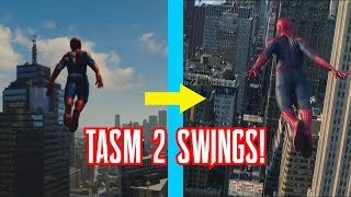 Spider-Man PS4 Recreating The Amazing Spider-Man 2 Swing Scenes!