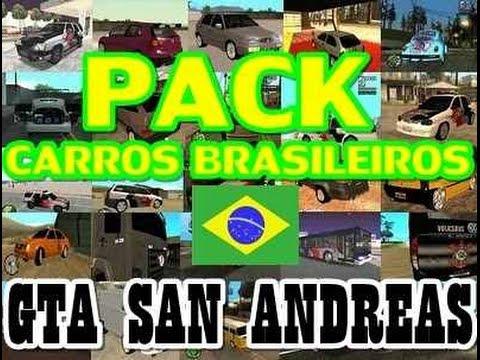 patch gta san andreas carros brasileiros