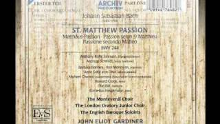 J.S. Bach:  St. Matthew Passion BWV 244 Kommt, ihr Tochter, helft mir klagen:  CHOR MIT CHORAL