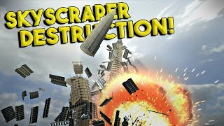 MASSIVE SKYSCRAPER DESTRUCTION! - Disassembly 3D Gameplay - Ep 2
