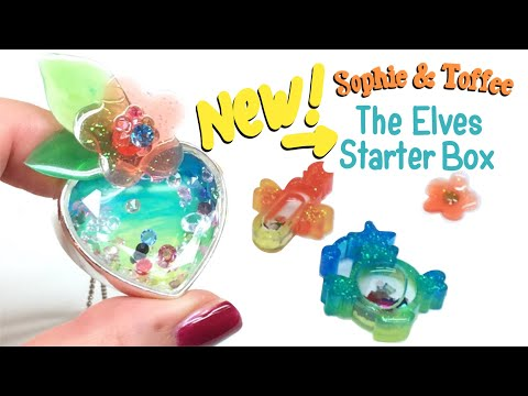 S&T The NEW ELVES STARTER BOX- Unboxing and demo- UV Resin- Tutorial