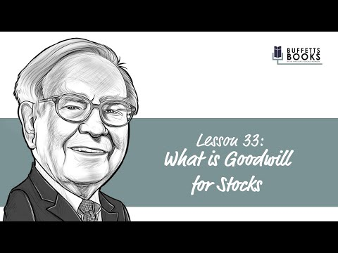 33. What is Goodwill on a Balance Sheet