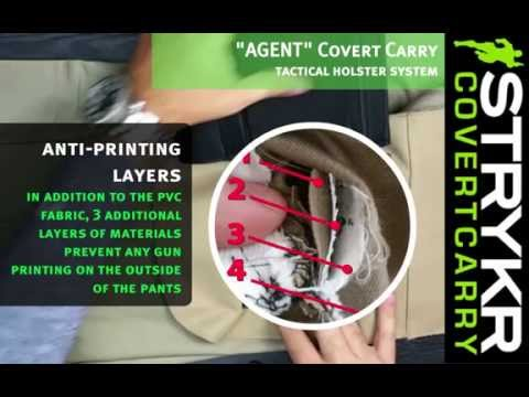 """STRYKR """"AGENT"""" Covert Carry - An Upclose Inside Look"""
