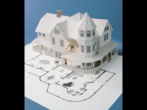 make a paper house very easy.zee learning