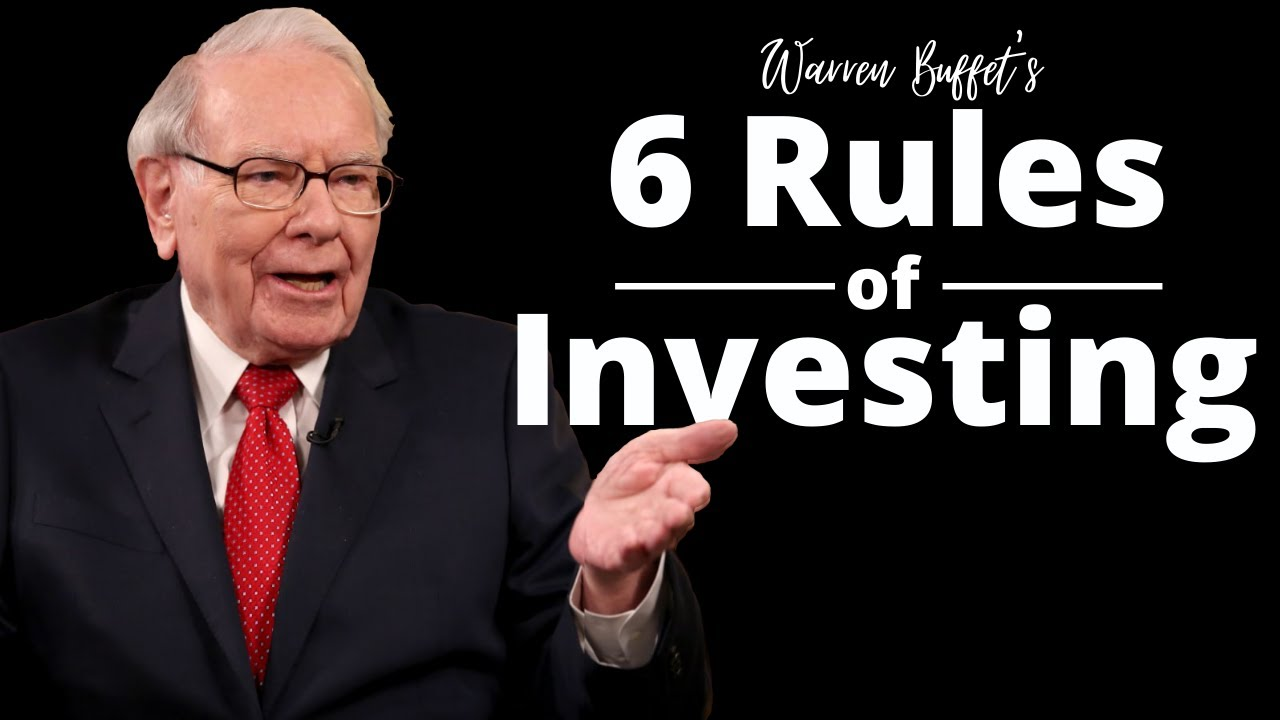 Download Warren Buffet's 6 Rules Of Investing