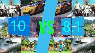 Gaming BENCHMARK COMPARISON! | Windows 8.1 vs Windows 10