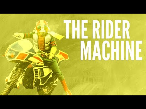 The Rider Machine - Vehicle of Justice