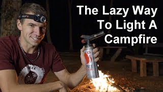 The Easy Way to Light a Campfire