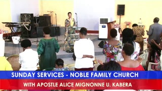 SUNDAY SERVICES - NOBLE FAMILY CHURCH  / 20th January 2019