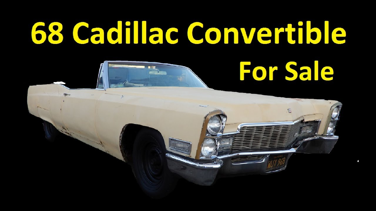 Convertible Classic Car For Sale ~ Barn Find Project Cadillac ...