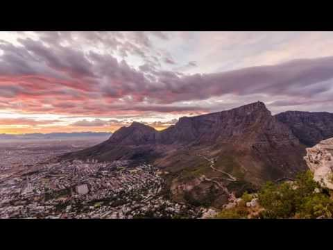 Sunrise at Cape Town