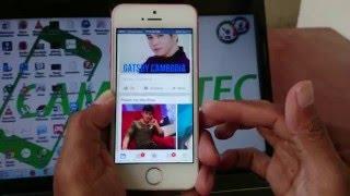 How to log out Facebook Messenger on iPhone | របៀបចាកចេញពី Facebook Messenger នៅលើ iPhone
