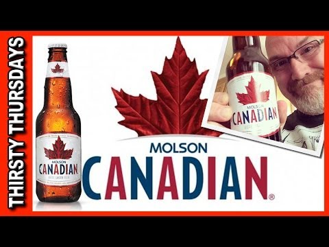 Molson Canadian Lager Review