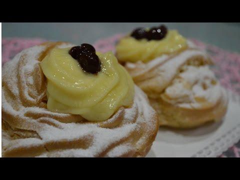 ZEPPOLE DI SAN GIUSEPPE || RICETTA BIMBY
