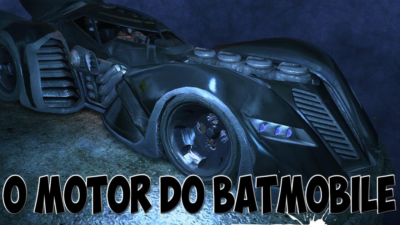 O Motor do Batmobile! (Batman: Arkham origins) - YouTube