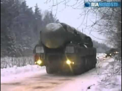 RS 24 Yars Russian ICBM response to the U.S. missile shield STAR WARS
