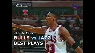 January 6, 1997 Bulls vs Jazz highlights