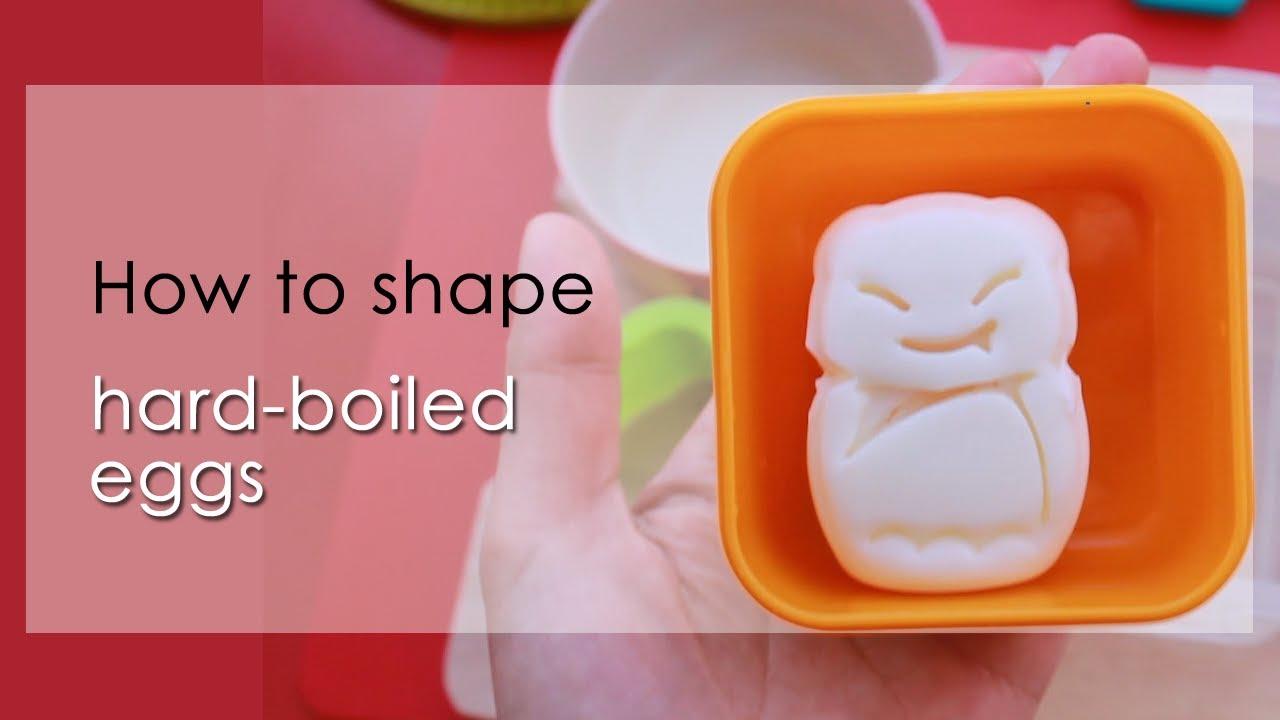 How To Use Hard Boiled Egg Mold  Animal Shape  YouTube