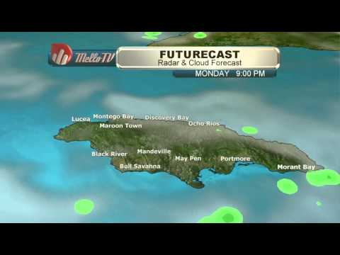 Weather Forecast for Jamaica 10/26/15 with Cristina Sánchez