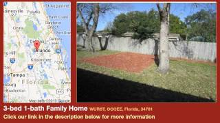 3-bed 1-bath Family Home for Sale in Ocoee, Florida on florida-magic.com