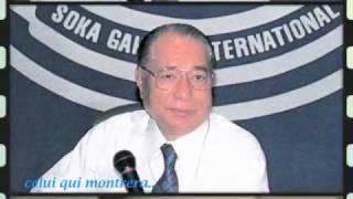 SOKA GAKKAI INTERNATIONALE : LES TROIS MAÎTRES -vidéo RENÉE-FRANCE BOURDARIE-GHARBI