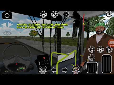 BRT PROTON BUS SIMULATOR #92 Mercedes Benz O500UA  Mondego  TEC  V97