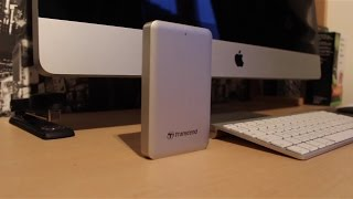 Transcend 2TB Thunderbolt Drive Review
