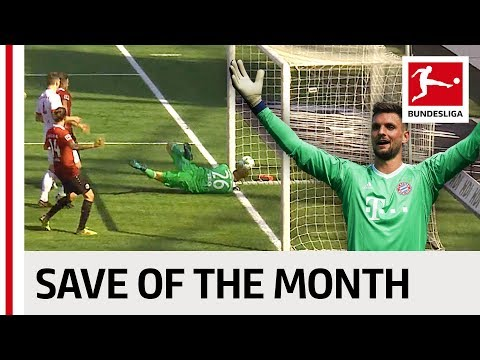 Greatest Save of the Month - April - 2017/18 Season