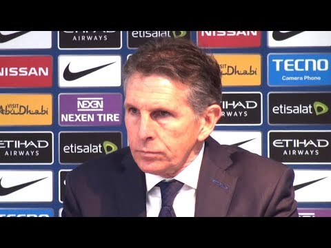 Manchester City 5-1 Leicester City - Claude Puel Full Post Match Press Conference - Premier League