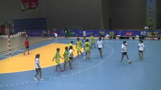 Fen Handball 14-15 yr old in white Gold Game 2014  3