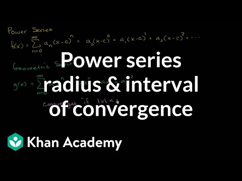 Power series intro | Series | AP Calculus BC | Khan Academy