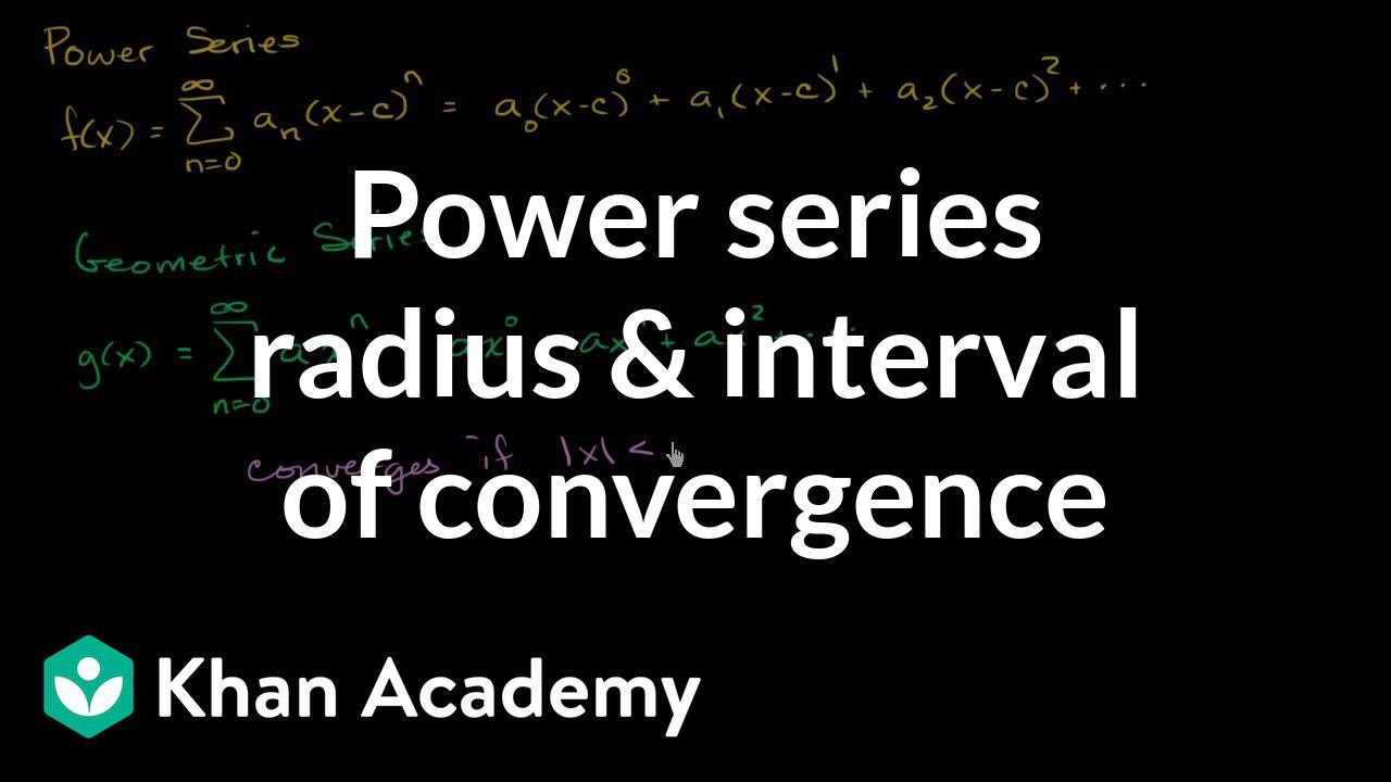 Power series intro (video) | Khan Academy