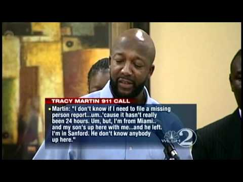 911 calls from Trayvon Martin's father released
