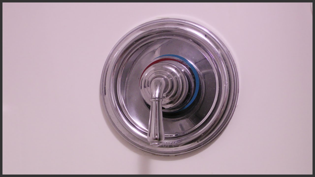 How to fix a loose shower handle - YouTube