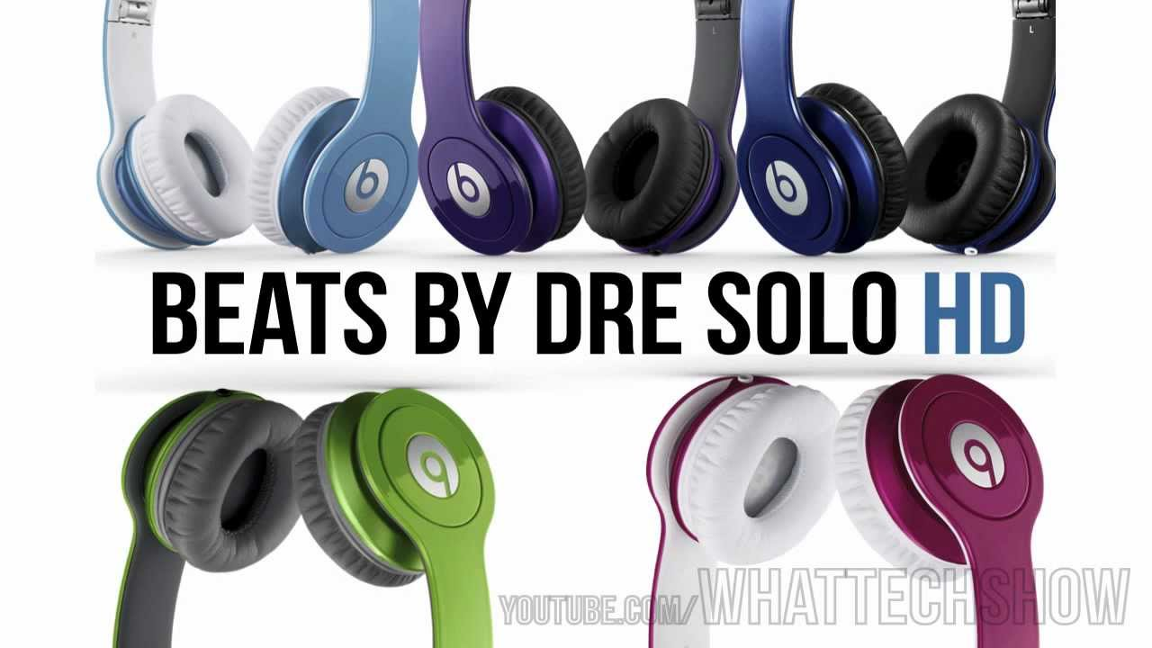 NEW COLORS FOR BEATS BY DRE SOLO HD - YouTube