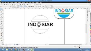 Tutorial CorelDraw - Membuat Logo Indosiar