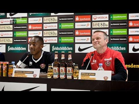 14. Spieltag   SGD - Köln   Pressekonferenz vor dem Spiel