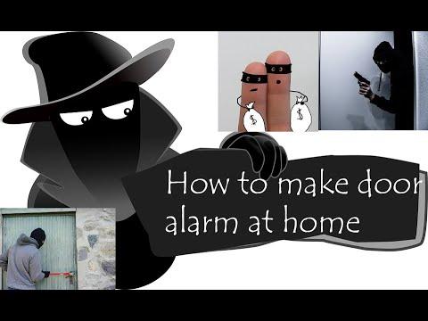 Door alarm for privacy -DIY